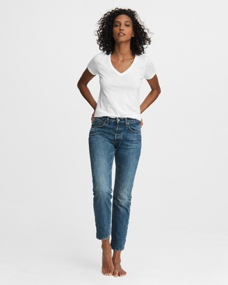 Rag & Bone Rosa mid-rise boyfriend - washington