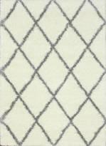 nuLoom Trellis Grey Shag Rug
