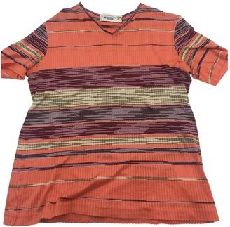 Missoni Orange Cotton Top for Women Vintage