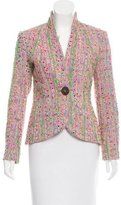 Yigal Azrouel Structured Tweed Blazer