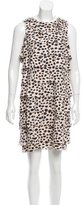3.1 Phillip Lim Cheetah Print Sleeveless Dress