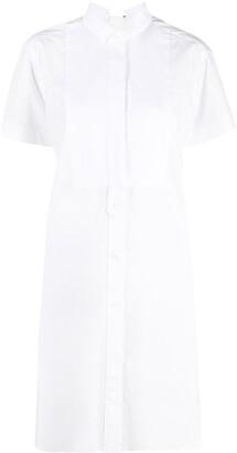 Sacai Panelled Shirt Dress