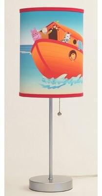 """Zoomie Kids Noahs Ark 20"""" Table Lamp"""
