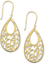 Giani Bernini 18k Gold over Sterling Silver Earrings, Scroll Earrings
