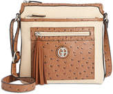 Giani Bernini Small Linen Crossbody, Created for Macy's