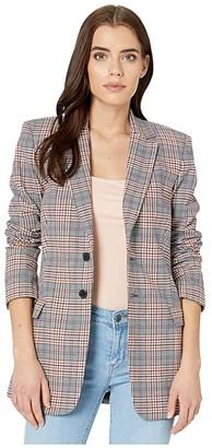 Current/Elliott The Blazer (Calla Plaid) Women's Jacket