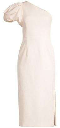 Rebecca Vallance Andie One-Shoulder Midi Dress