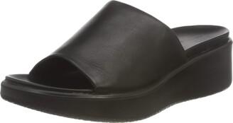 Ecco Women's Women's Flowt Luxery Wedge Slide Sandal