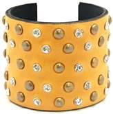 Made It! Leather Bling Cuffs