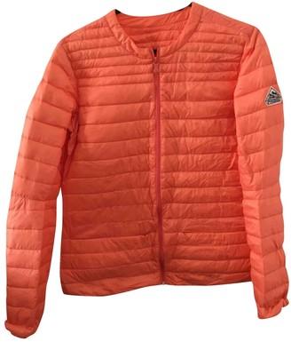 Pyrenex Orange Faux fur Coat for Women