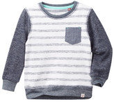 Sovereign Code Striped Sweatshirt (Baby Boys)