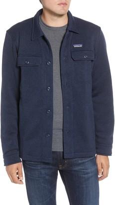 Patagonia Better Sweater Fleece Shirt Jacket
