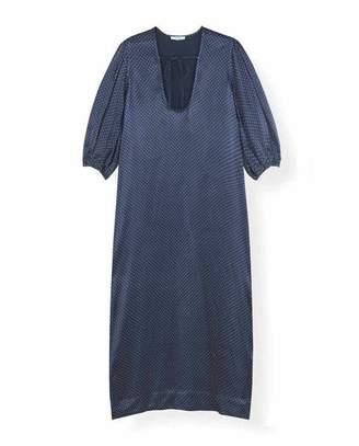 Ganni Heavy Satin Long Dress - 34