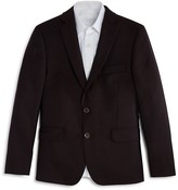DKNY Boys' Wool Herringbone Sport Coat - Big Kid