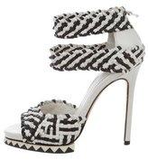 Camilla Skovgaard Multistrap Platform Sandals