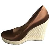 Salvatore Ferragamo Brown Heels