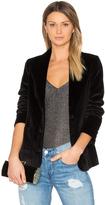 Anine Bing Velvet Blazer