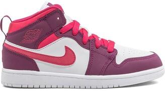 Nike Kids Jordan 1 mid-top sneakers