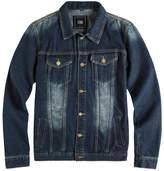 ZSHOW Men's Casual Denim Jacket Tall Coat(,US XS)