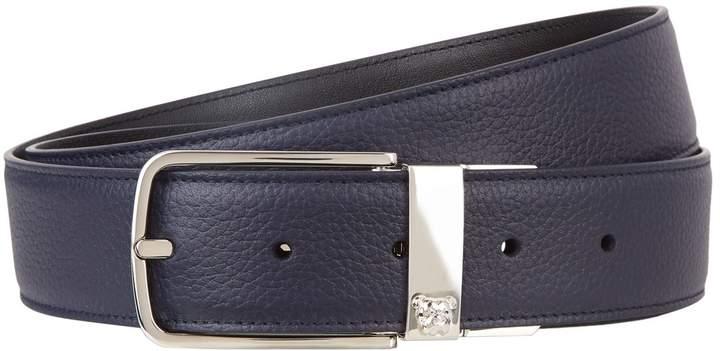 Dunhill Reversible Leather Bulldog Belt