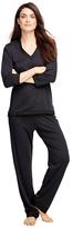 Brooks Brothers Cotton Pajama Set with Satin Trim
