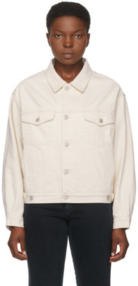 AGOLDE Off-White Denim Charli Jacket