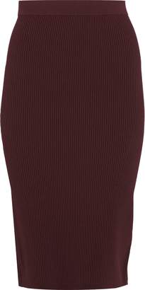 Vince Ribbed-knit Pencil Skirt
