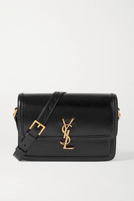 Saint Laurent Solferino Medium Leather Shoulder Bag