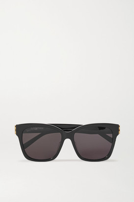 Balenciaga Square-frame Acetate Sunglasses - Black