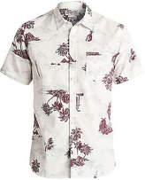 Quiksilver NEW QUIKSILVERTM Mens Island Apocalyspe Short Sleeve Shirt Tops