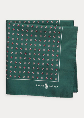 Ralph Lauren Neat Silk Pocket Square