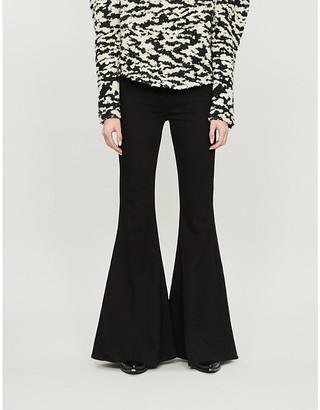 Frame Le High Super Flare high-rise jeans