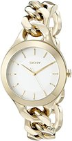 DKNY Women's NY2217 CHAMBERS Gold Watch