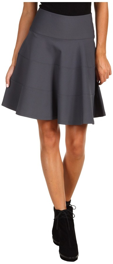 Robert Rodriguez Seamed Fit & Flare Skirt
