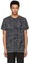 Haider Ackermann Black and White Perfusion T-Shirt