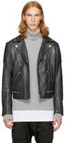 Diesel Black Leather L-Primus Jacket