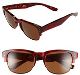 Nike Volition 54Mm Sunglasses - Red Tortoise
