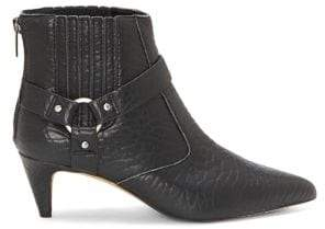 Vince Camuto Merrie Buckled Leather Booties