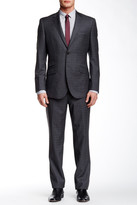 English Laundry Two Button Notch Lapel Wool Suit