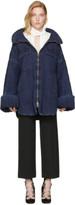 Chloé Indigo Oversized Denim Jacket