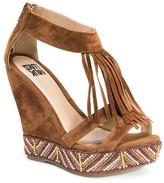 Muk Luks Women's Ciara Quarter Strap Wedge Sandals