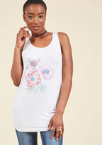 ModCloth Wildflowers Welcome Tank Top in 3X