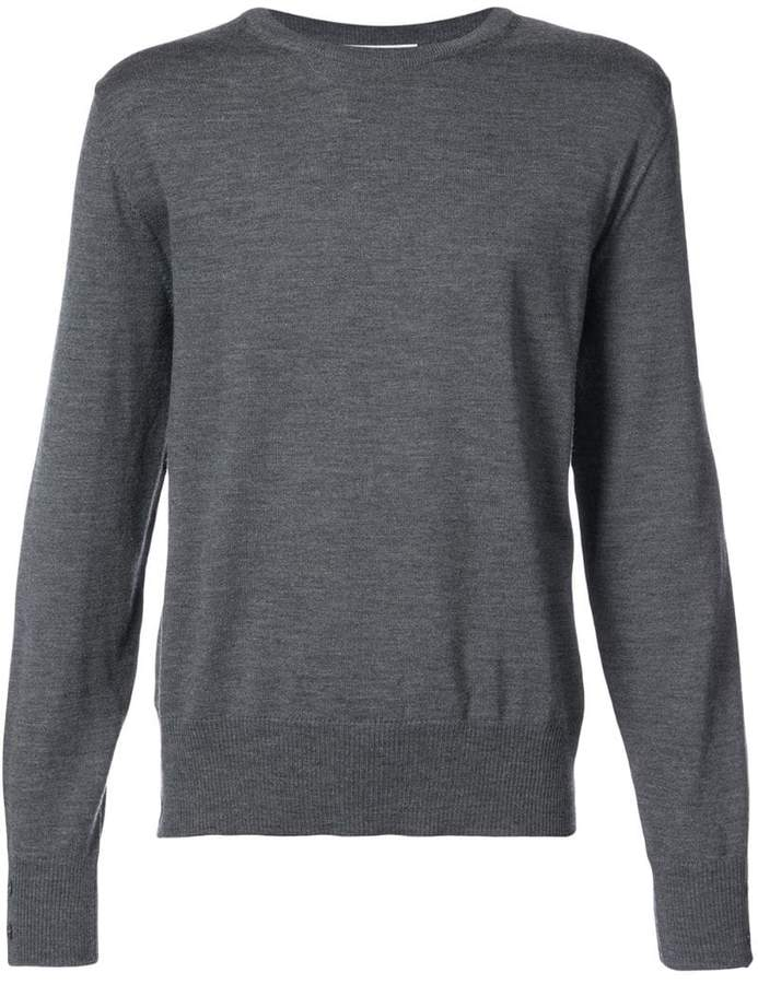 Thom Browne Relaxed Mercerized Merino Pullover