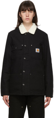 Carhartt Work In Progress Black Fairmount Jacket