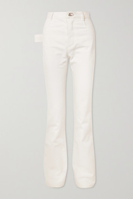 Bottega Veneta High-rise Slim-leg Jeans - White