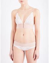 Stella McCartney Bella Admiring floral-lace soft-cup bra
