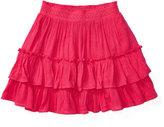 Ralph Lauren Tiered Gauze Pull-On Skirt