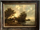 One Kings Lane Vintage Landscape Dutch Old Master Ruysdael