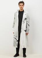 Dries Van Noten white / black vasquez coat