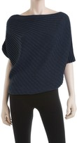 Max Studio Twisted Ribbed Sweater